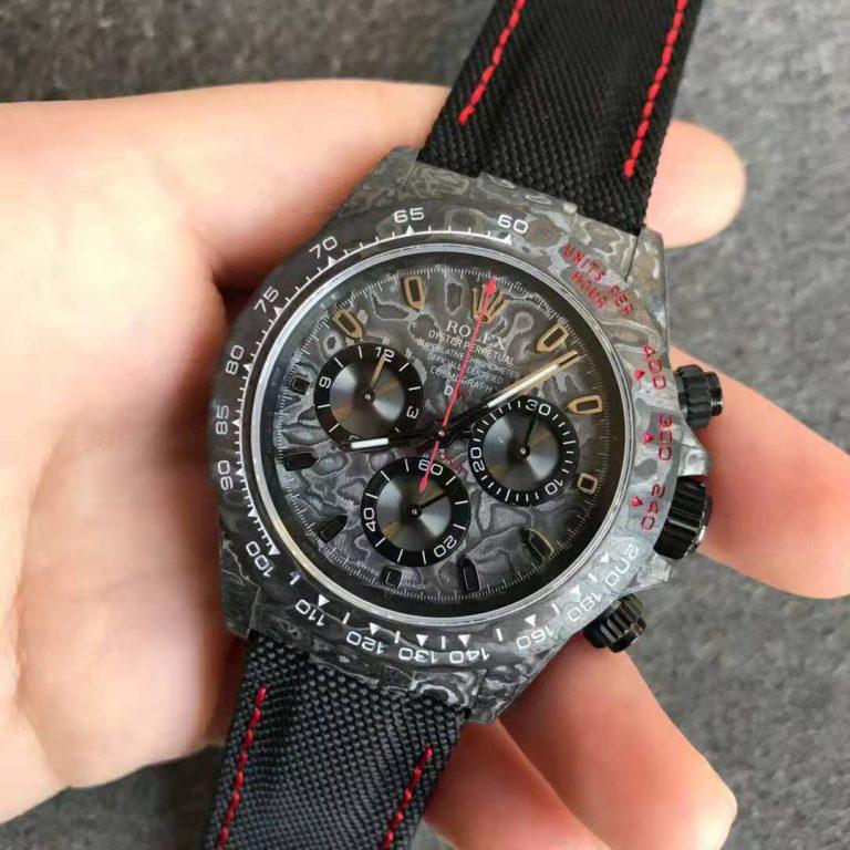 Đánh giá chi tiết bản sao của Nhà máy Noob Rolex DIW Daytona All Black với Super Clone 4130 Movement