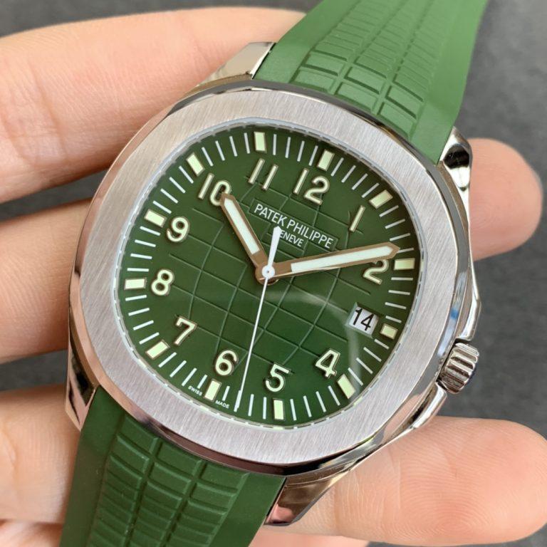 Đánh giá đồng hồ Z Factory Replica Patek Philippe Aquanaut 5167 Green
