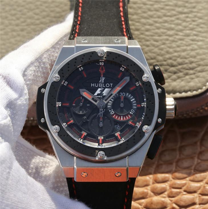 Đồng hồ màu đỏ của Hublot King Power F1 Factory Replica với Bộ chuyển động Clone HUB4100