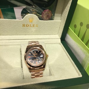 Đồng hồ Rolex Day Date President Automatic Day Date 118235 CHODRP fake 1-1 cao cấp