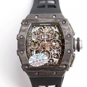 Richard Mille Automatic Flyback Chronograph RM 11-03 Carbon Fake 1-1 SIÊU CẤP