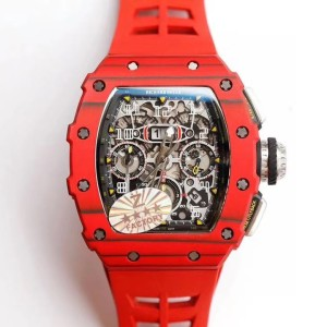 Richard Mille  RM 11-03  Flyback Chronograph Red Quartz FAKE 1-1 CAO CẤP
